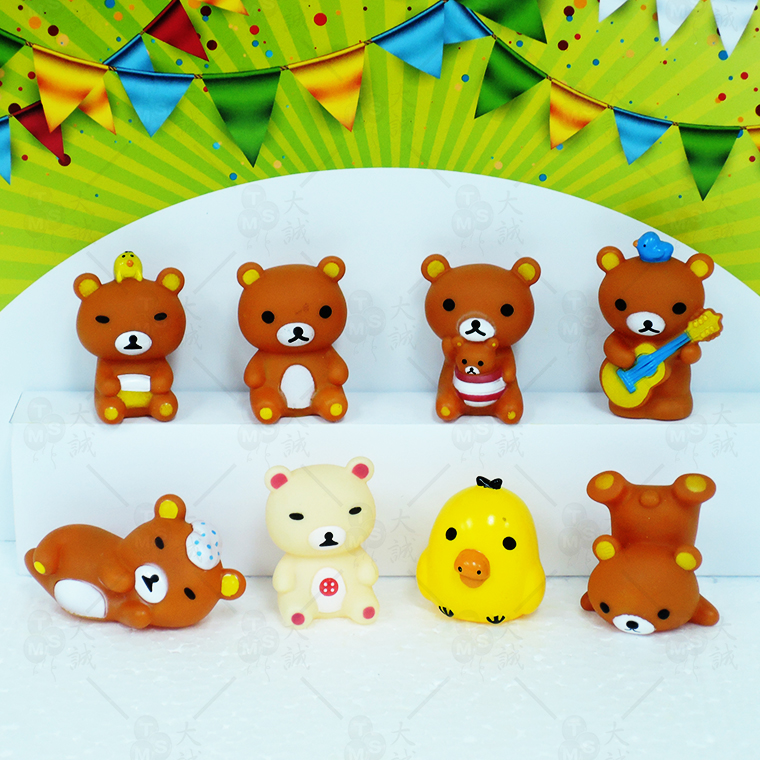 Cake Decoration Rilakkuma 8pcs