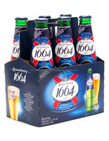 Excellent Kronenbourg Beer 1664 blanc Can and Bottle