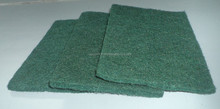 Abrasive duty scrubbing cleaner kitchen scouring pad