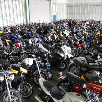 High quality famous used 125cc motorcycles by Japanese companies