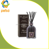 Home Air freshener reed diffuser bottle with rattan sticks