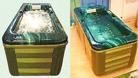 one person hot tub outdoor spa for 6 persons high quality oxygen integrated massage hot tube stock price