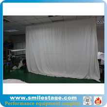 Ceiling drape portable pipe and drape kits for hall decorations