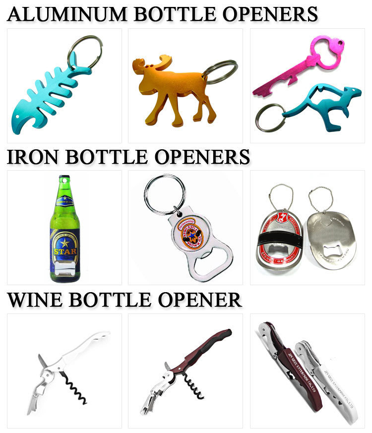 Bar Promotional Gift Beer Bottle Opener Key Chains Wholesale