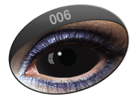 Black Sclera lenses 22mm