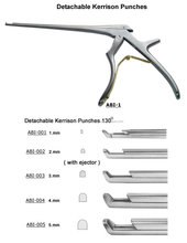 "Rongurs and Bone punches Kerrison Cervical Rongeurs 7"" Shaft DownBite Surgical Instruments / Punches"