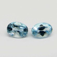 Sky Blue Topaz 5x7mm Oval Cut 1.0 Cts AAA grade calibrated loose gemstone for prong setting IG4313