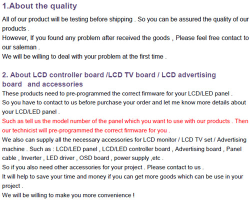 DVI+VGA +Audio LCD board +LVDS cable +OSD keypad with cable+ 13.3 inch 1366*768 LP133WH2-TLGA
