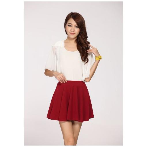 Womens 100% cotton short skirts at cheap price