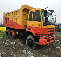 Good Condition Nissandiesle Used Dump Truck