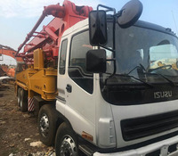 Sany Used Concrete Pump Trucks For Sale