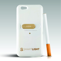 Electronic cigarette lighter White case for iPhone 6 6S Replaceable heating coil