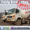 Used Hino Truck Mixer, Japan Concrete Truck Mixer