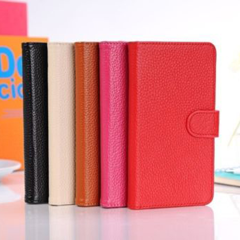 IMPRUE Genuine Credit Card Stand Flip Wallet Leather case cover for samsung note 3