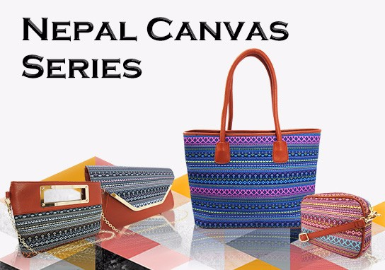 Nepal Canvas Tote Bag