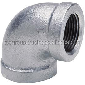 Elbow Malleable Iron Pipe Fitting (Galvanized)
