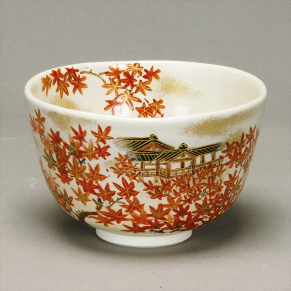 Cute and new products Autumn tea bowl ohon touhukuzikouyou with Tea utensils made in Japan