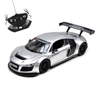 Rastar Licensed AUDI R8 Remote Controlled Battery Operated RC Toy Racing Model Car Diecast 1:14 Scale Silver and Black