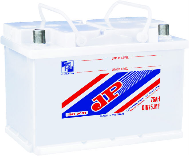 DIN75 (12V - 75Ah) Lead acid Battery/Dry charged Battery