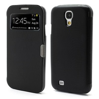 Magnetic Wake Up Sleep Leather Case Smart Cover for Samsung Galaxy S IV S4 i9500 i9505 -