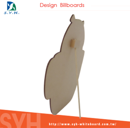 lovely color printing animal board / writing board/drawing board for office