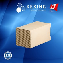 Aluminum Porcelain Honeycomb ceramic Structured Media for RTO RCO