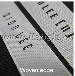 Custom Personal Brand Clothing Labels Satin Woven Label For Garment