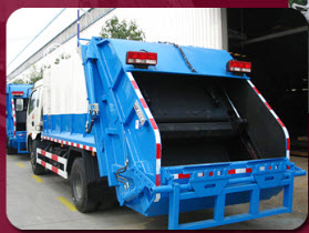 Garbage Compactor Refuse Trucks
