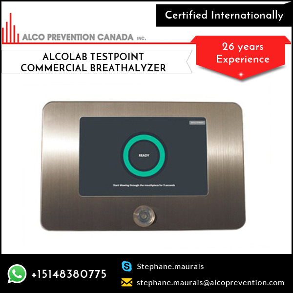 Best Quality Alcolab Testpoint Alcohol Tester Available for Professional Use