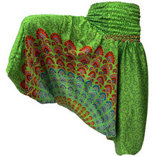 Wholesale INDIAN ALI BABA HAREM YOGA WOMAN HAREM TROUSER GYPSY BOHO HIPPIE PANTS -