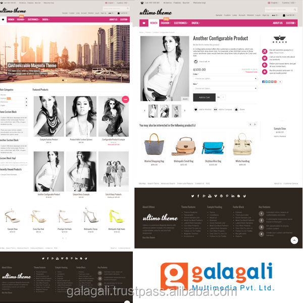 SEO Based Ecommerce Website Design and Development for Fashion and Footwear