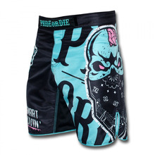 MMA Mix Martial Arts Shorts made by polyester with Customized Logo