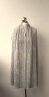 hand knitted stole scarf hand knit shawl hand knit wool shawl embroidered indian pure wool shawls