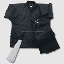 Martial Arts Black Canvas 14-Oz Karate Uniform High Quality