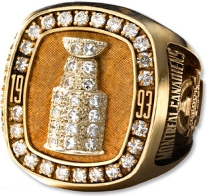 1993 NHL NATIONAL HOCKEY LEAGUE CHAMPIONSHIP RING