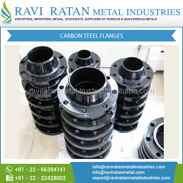 Excellent Finish Carbon Steel Flanges with Accurate Dimension for Sale