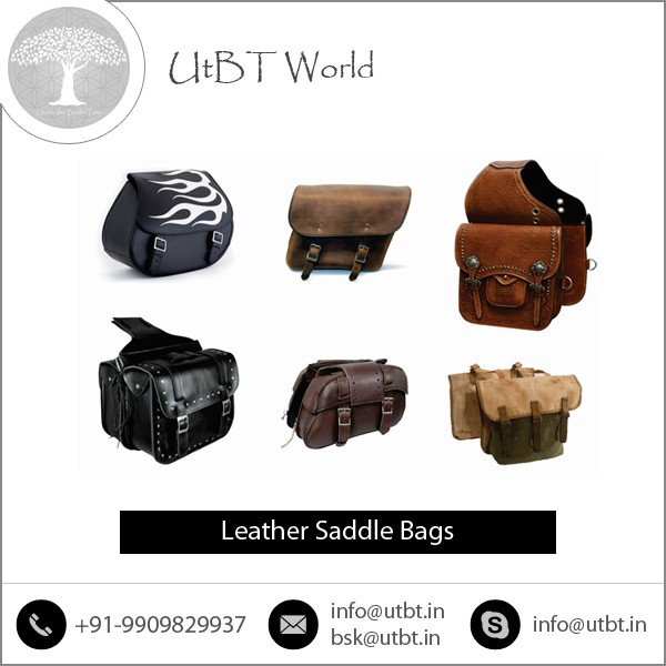 Fine Stitching Customize Color Horse Saddle Bag for Sale