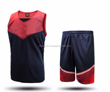 Basketball jerseys sets basketball jersey cheap authentic sports jerseys made of Breathable Material