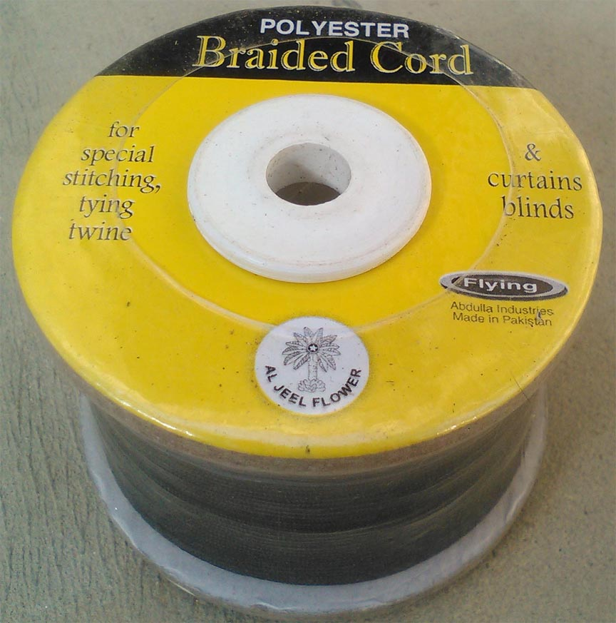 Polyester Braided Curtain Cord For Curtains & Window Blinds & Curtain Tapes