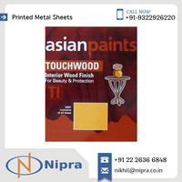 Aluminium Printed Metal Sheet for Different Type of Can Printing