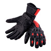 LEATHER GLOVES MOTORBIKE, Protective lining BIKE PROTECTION
