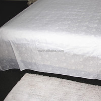 WEISDIN new products best selling products polyester cotton woven jacquard cotton double bed sheet