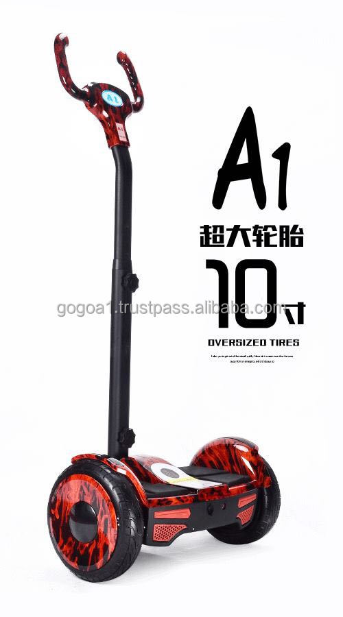 hot sale hover board 10 inch handle smart self balancing scooter 2 wheel hoverboard e balance scooter