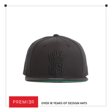 FL032 - WakeTheUp - Black / Custom fashion style/ high-end snapback caps /hat/ vietnam hat manufacturers