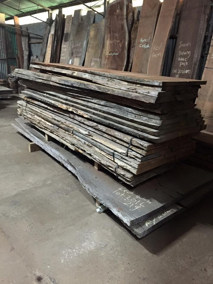 Timber Slabs - Australian Hardwood timber