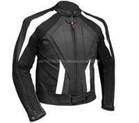 New Fashion Mens Real Sheep Leather Jackets Suzuki Motorcycle Jacket