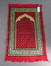 Beautiful design of prayer mat Sajadah mats