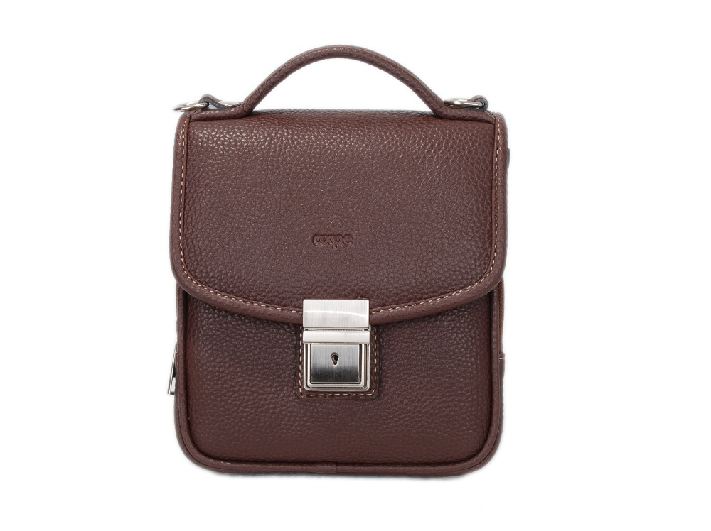 Axpe, PU Leather,Two-Compartment with front pocket small Briefcase