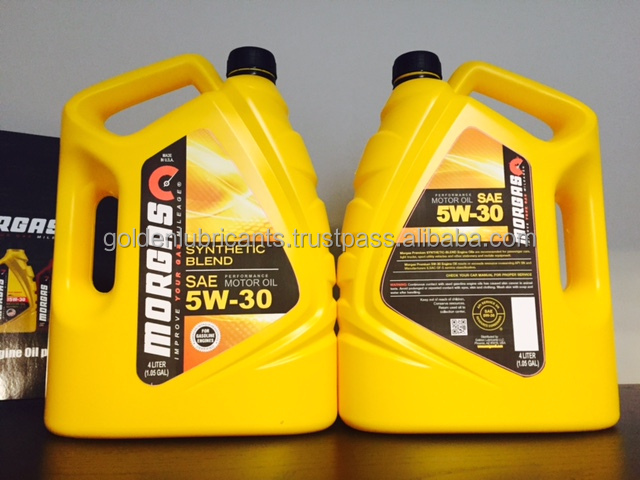 MorGas 15W40 Diesel Engine Oil CJ-4, GAL BOX