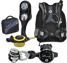 Aqua Lung Pro LT BC, Zoop Dive Computer, Scuba Regulator Package